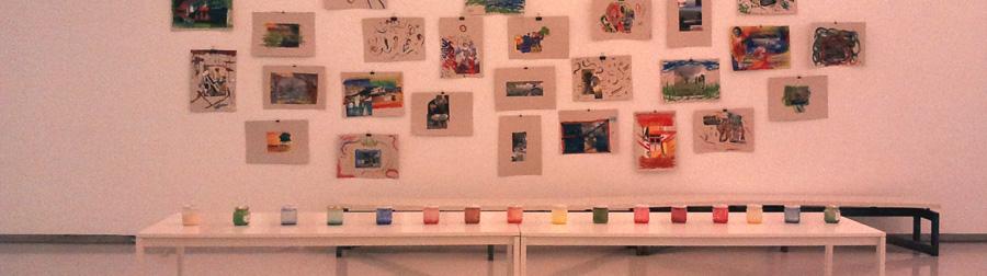 Artista tailerra Lourdes de la Villarekin