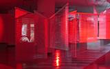 Haegue Yang, Moldaketa sentiberen saila- itzalik gabeko ahotsa hiruren gainean (2008). Site-specific instalazioa. Desberdintasun simetrikoa, sala rekalde, Bilbao. Fotografía: Begoña Zubero. (13)