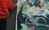 Artista tailerra Natalia Suárez Ortiz de Zárate-rekin